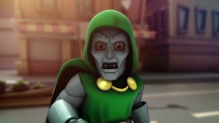 getlinkyoutube.com-Super Hero Squad Online - PC - official video game debut trailer HD