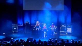 getlinkyoutube.com-Caramella Girls - Caramelldansen - Stage Performance