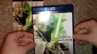 getlinkyoutube.com-Star Wars prequel trilogy bluray Unboxing