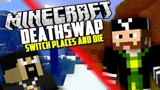 getlinkyoutube.com-DIE FOR ME! Minecraft: Deathswap Challenge w/ AntVenom!