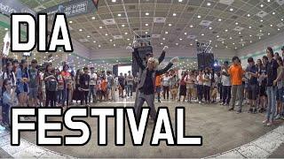 getlinkyoutube.com-# performance - at DIA Festival 2016.08.28 [Poppin Hyunjoon 팝핀현준]