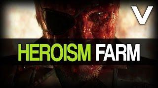 getlinkyoutube.com-Metal Gear Solid 5: The Phantom Pain - Fast Heroism Farm / Reduce Demon Points