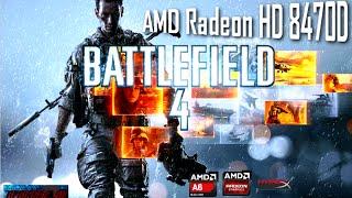getlinkyoutube.com-Battlefield 4 on AMD Radeon HD 8470D (A6 6400K 4.1GHz)