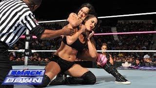 getlinkyoutube.com-Nikki Bella vs. AJ Lee: SmackDown, Oct. 25, 2013
