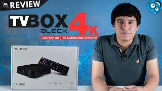 Review TV Box Bleck 4K Convierte tu TV en Smart Tv HDMI Android 6.0