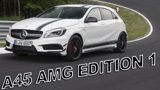 getlinkyoutube.com-Mercedes A45 AMG Edition 1: SOUND - ACCELERATION Race Mode - Launch Control
