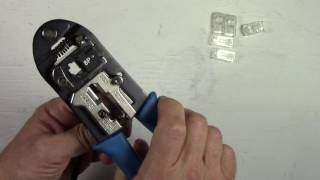 How To Install/Replace An RJ45 Connector On A CAT5/CAT5E Ethernet Network Cable
