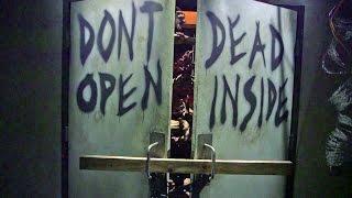 getlinkyoutube.com-The Walking Dead at Universal Studios Hollywood walkthrough excerpts