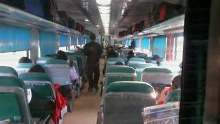 getlinkyoutube.com-Ajmer Shatabdi Express full journey in Executive Chair Car