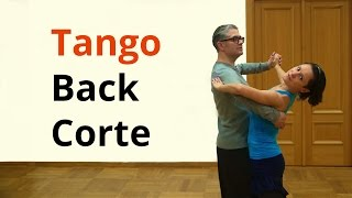 getlinkyoutube.com-How to Dance Back Corte in Tango / Ballroom Dancing
