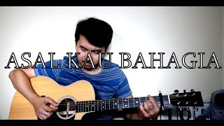 Armada - Asal Kau Bahagia (Fingerstyle cover by Jorell) INDONESIAN | WITH LYRICS