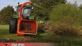 getlinkyoutube.com-TP 250 PTO - Wood Chipper from Linddana