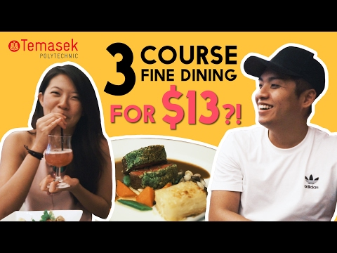 SEARCH FOR THE BEST POLY FOOD: TEMASEK POLYTECHNIC | TSL Vlogs | EP 35