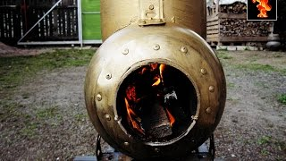 getlinkyoutube.com-Ракетная печь ,самая простая от А до Я/ Rocket stove/ Rakete Herd/oven / ロケットストーブ//로켓 스토브