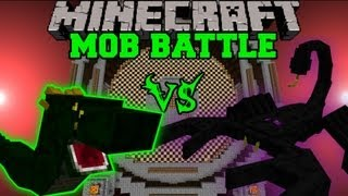 getlinkyoutube.com-EMPEROR SCORPION VS. BASILISK - Minecraft Mob Battles - Arena Battle - Ultimate Bosses Mod