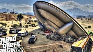 getlinkyoutube.com-UFO Crash - GTA 5 MOD