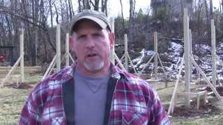 getlinkyoutube.com-How to Build a Pole Barn Pt 4 - Banding & Bracing for Trusses