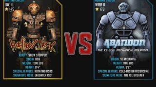 getlinkyoutube.com-Real Steel WRB Hollowjack VS Abandon NEW