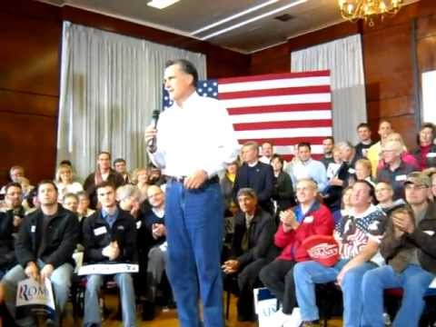 Mitt Romney Campaign Appearance