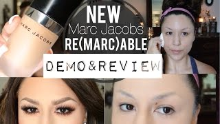 getlinkyoutube.com-NEW Marc Jacobs REMARCABLE Foundation Demo&Review