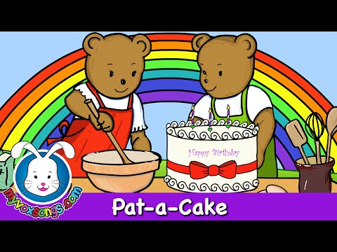 Pat-a-Cake - Nursery Rhymes - MyVoxSongs