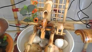 getlinkyoutube.com-maravilhosa fonte feita de bambu