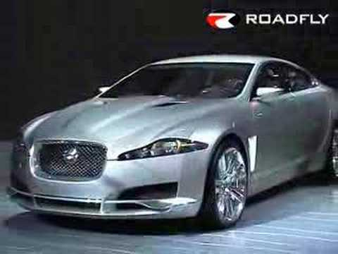Jaguar XF C-XF Concept Car from Detroit NAIAS
