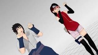 getlinkyoutube.com-Naruto MMD Bo Peep Bo Peep (Father and Daughter) Sasuke and Sarada