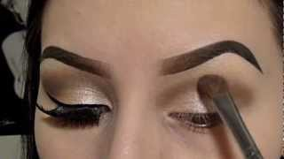 getlinkyoutube.com-Champagne Shimmer (Neutral Colors) Eyeshadow Tutorial