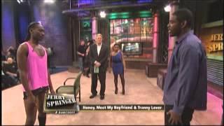 getlinkyoutube.com-Honey, Meet My Boyfriend & Tranny Lover (The Jerry Springer Show)
