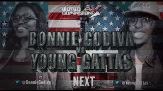 getlinkyoutube.com-KOTD - Rap Battle - Bonnie Godiva vs Young Gattas | #WD4