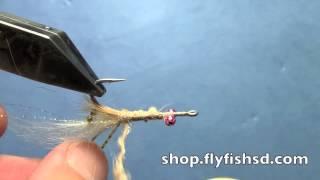 getlinkyoutube.com-Tying Bonefish Flies Veverka's Mantis Shrimp