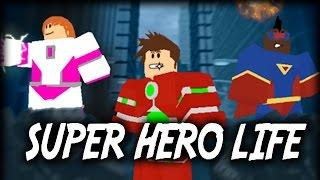 getlinkyoutube.com-SUPER HERO LIFE! - Let's Play Roblox