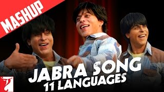 getlinkyoutube.com-Mashup: Jabra Song | 11 Languages | FAN Anthem | Shah Rukh Khan