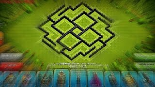 getlinkyoutube.com-تصميم لحفظ الموارد تاون هول 8 خورررافي ( قريب لتصميم دائرة الموت ! )