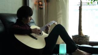 getlinkyoutube.com-(Original) Gravity - Sungha Jung (Bariton Guitar)