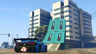 getlinkyoutube.com-LA CIUDAD DE LOS SALTOS - CARRERA GTA V ONLINE - GTA 5 ONLINE