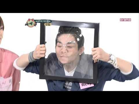 لعبة كورية مضحكة (تمزيق البلاستيك) مترجم