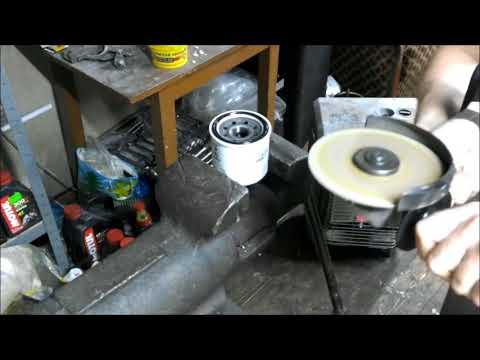 Распил масляного фильтра SAKURA C-9002 - недорогой аналог HiFlo303