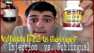 getlinkyoutube.com-Which B12 is Better?: Injection vs. Sublingual
