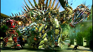 getlinkyoutube.com-Transformers Age of Extinction  - Dinobots Charge Scene (1080pHD VO)