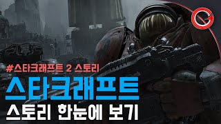 [겜프] 스타크래프트 2 스토리 한눈에 보기  (Starcraft 2 Story in 5 minutes)
