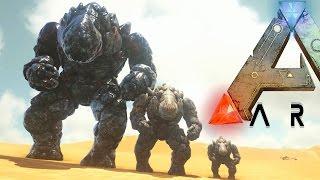 getlinkyoutube.com-Ark Survival Evolved - EPIC TITAN ROCK ELEMENTAL STOMPS EVERYTHING (Ark Modded Gameplay)
