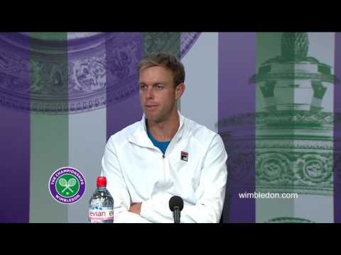Sam Querrey fourth round press conference