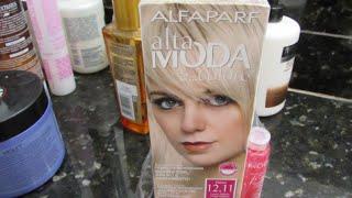 getlinkyoutube.com-Pintando o cabelo com a tinta 12.11 Alta moda,Alfaparf