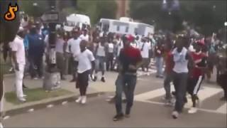 Brutal gang fights in the streets