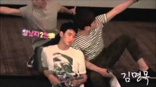 getlinkyoutube.com-Kim Soo Hyun's hilarious moves
