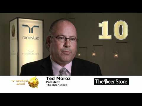 Most Attractive Employer voted by Canadians for the Randstad Award