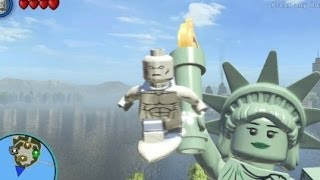 getlinkyoutube.com-LEGO Marvel Super Heroes (PS4) - Silver Surfer Free Roam Gameplay