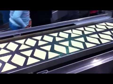 Máquina para hacer totopos